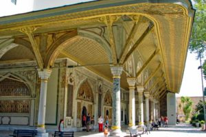 landmarks in Turkey topkapi palace