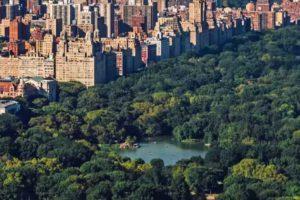 Central Park New York most instagrammed