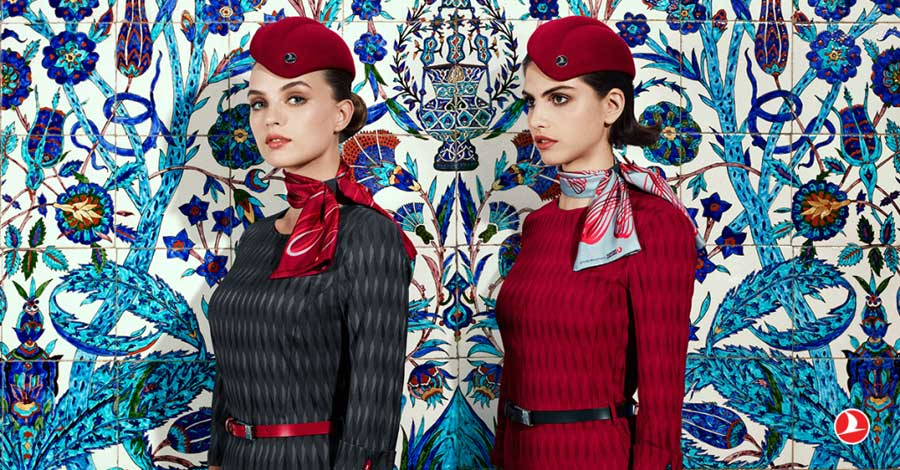 cabin crew uniforms