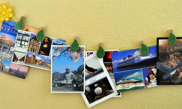 Travel memories kartpostal