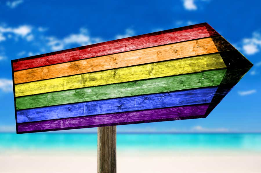 LGBTQ travelers rainbow