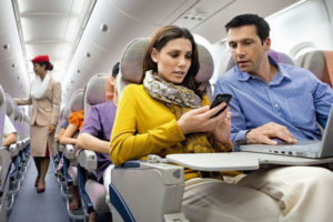 Emirates inflight WiFi