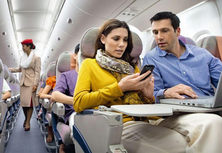 Emirates inflight WiFi