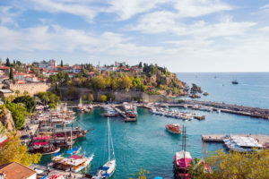 Turkish citizenship Antalya harbour
