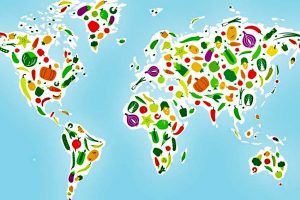 vegan vegetarian holiday world map