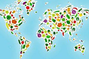 vegan vegetarian holiday world map